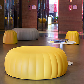 Stools pouf and benches